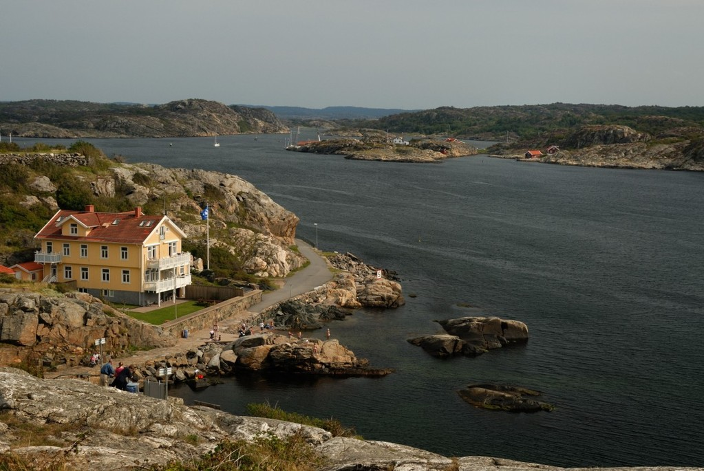 Marstrandin rantanäkymä