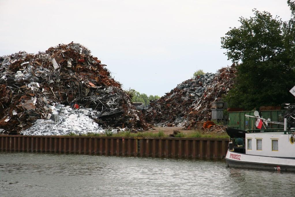 Kierrätystä Mittellandkanal