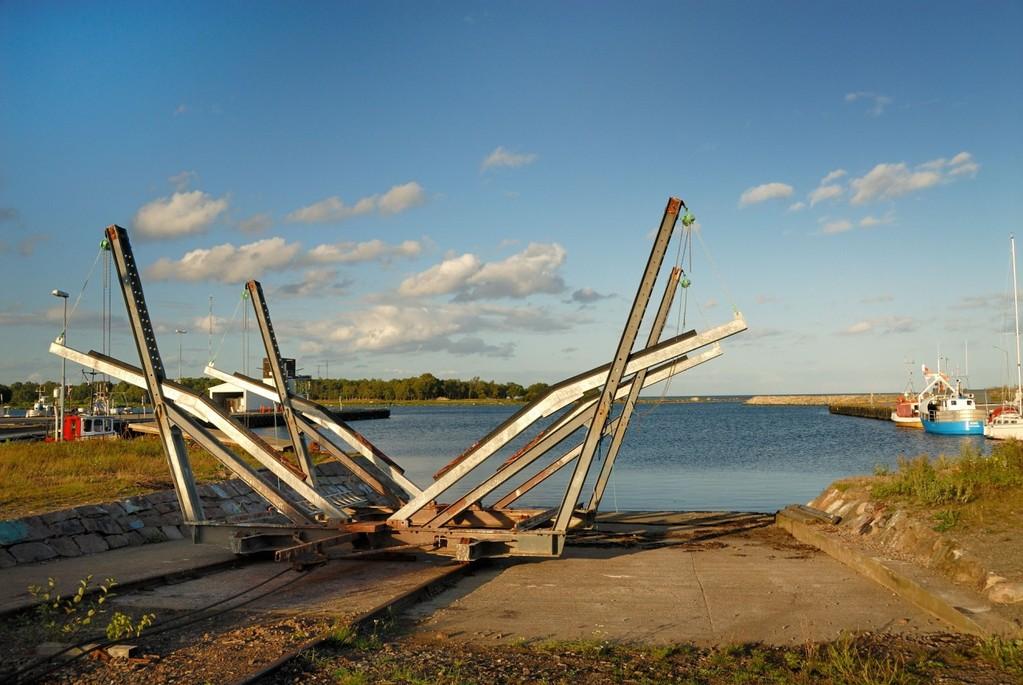 Sandhamnissa on venepalveluja aina nostoa myöten