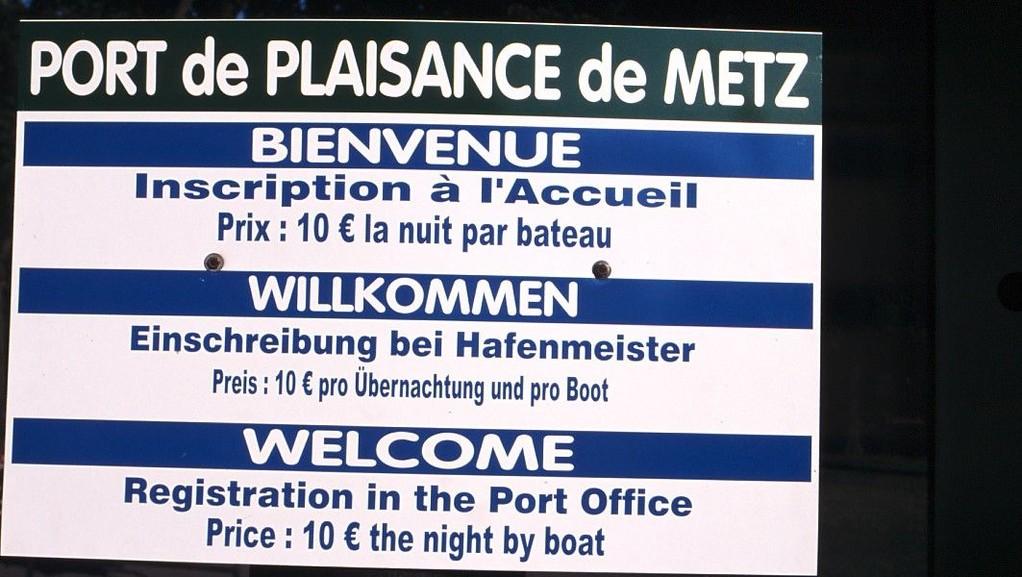 Metz, vierassatama