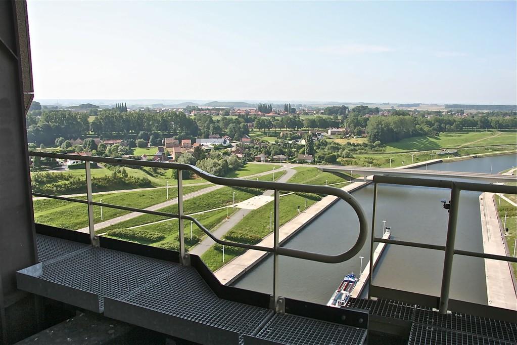 Näkymä laivahissistä, Arleux-Liege