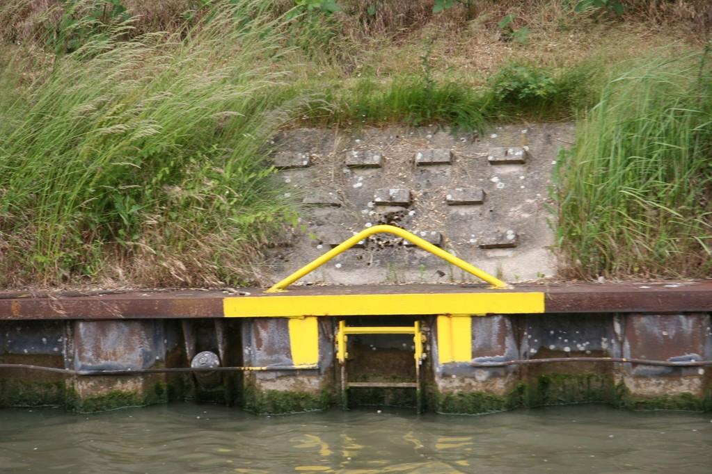 Elbeseitenkanal, toistuvia portaita