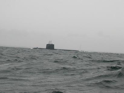 Sukellusvene Kalmarinsalmessa