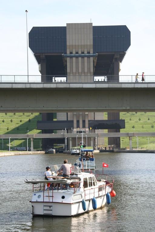 Laivahissi Belgiassa