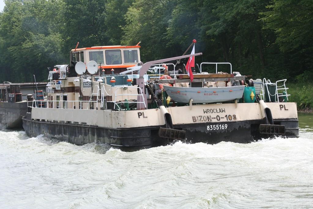 Puolalaista työntövoima, Mittellandkanal