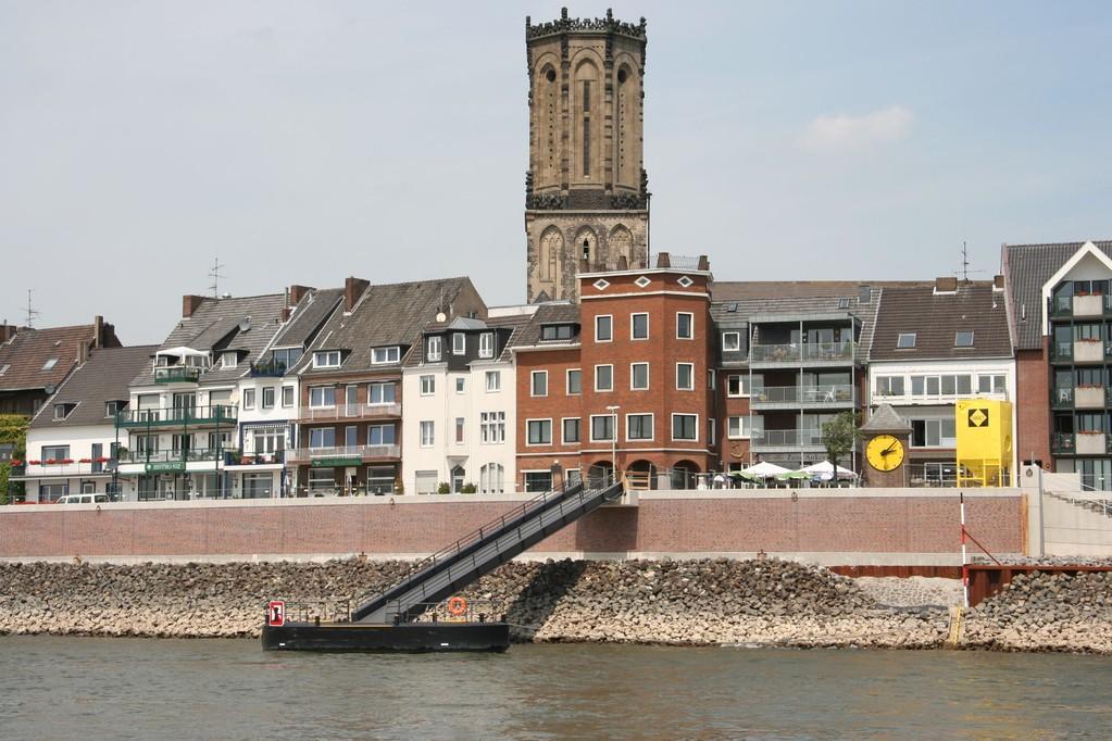 Tulvavalleja Reinillä