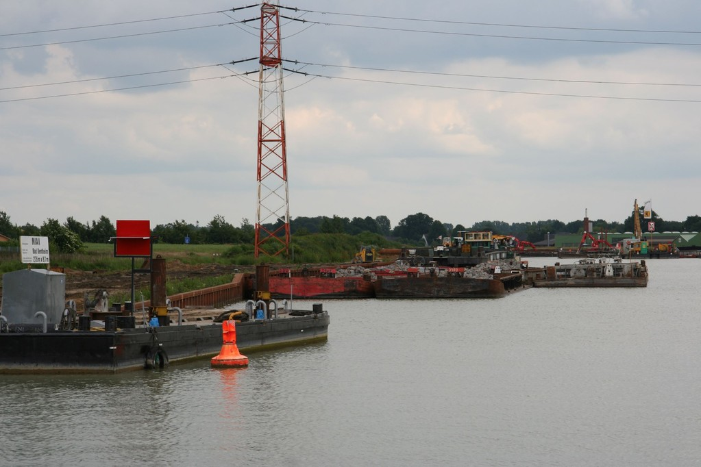 Dortmund-Ems-Kanal, raknnustöitä