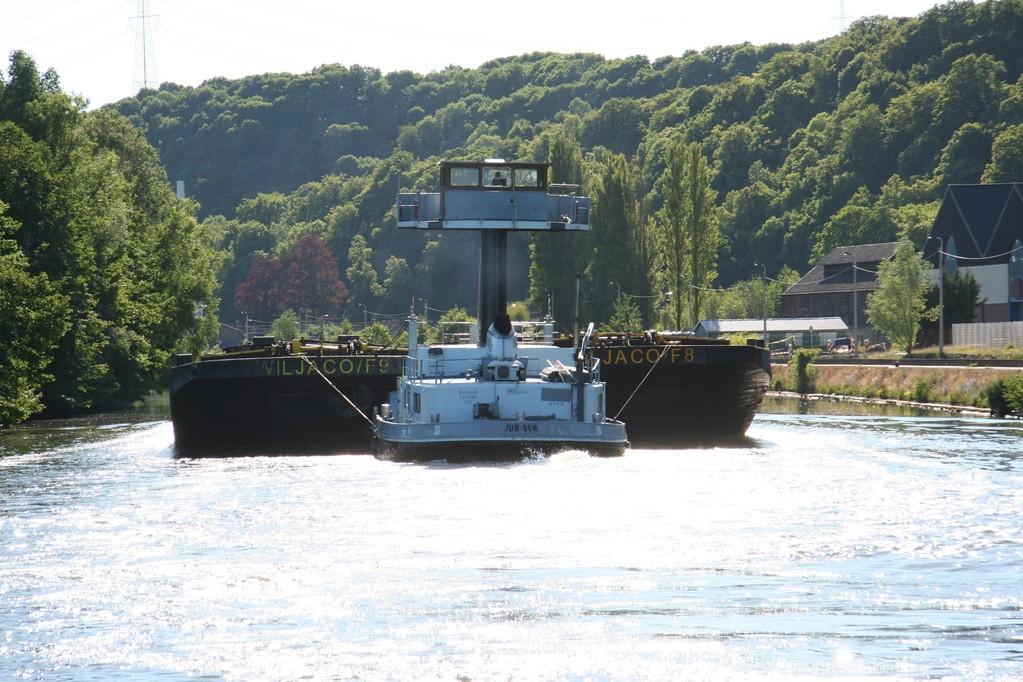 Työntöproomu, Meuse