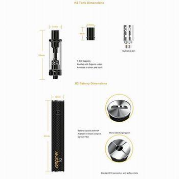 K2 電子たばこ ニコチン対応
