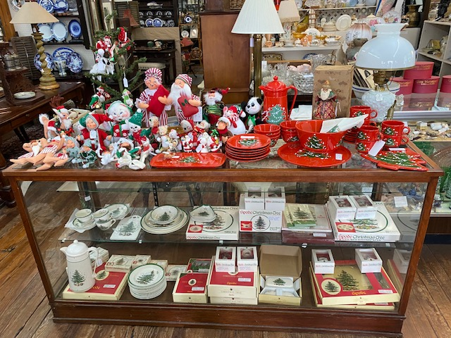 Spode Christmas China and Annalee Christmas Collectibles
