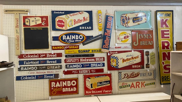 Some Bread Signs are SOLD.  Many still available.
