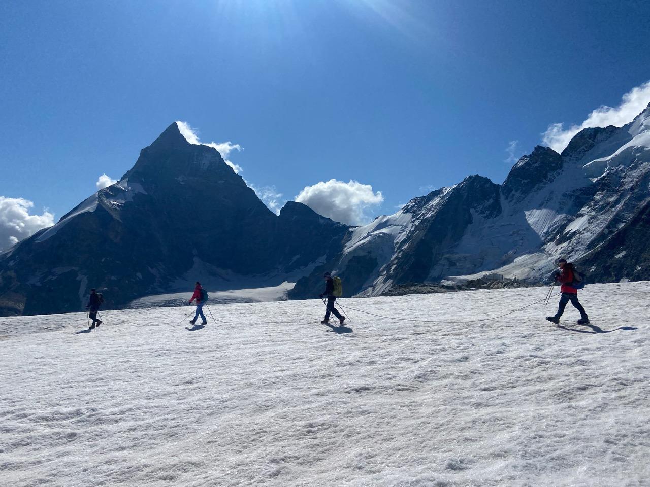 Von Arolla nach Zermatt