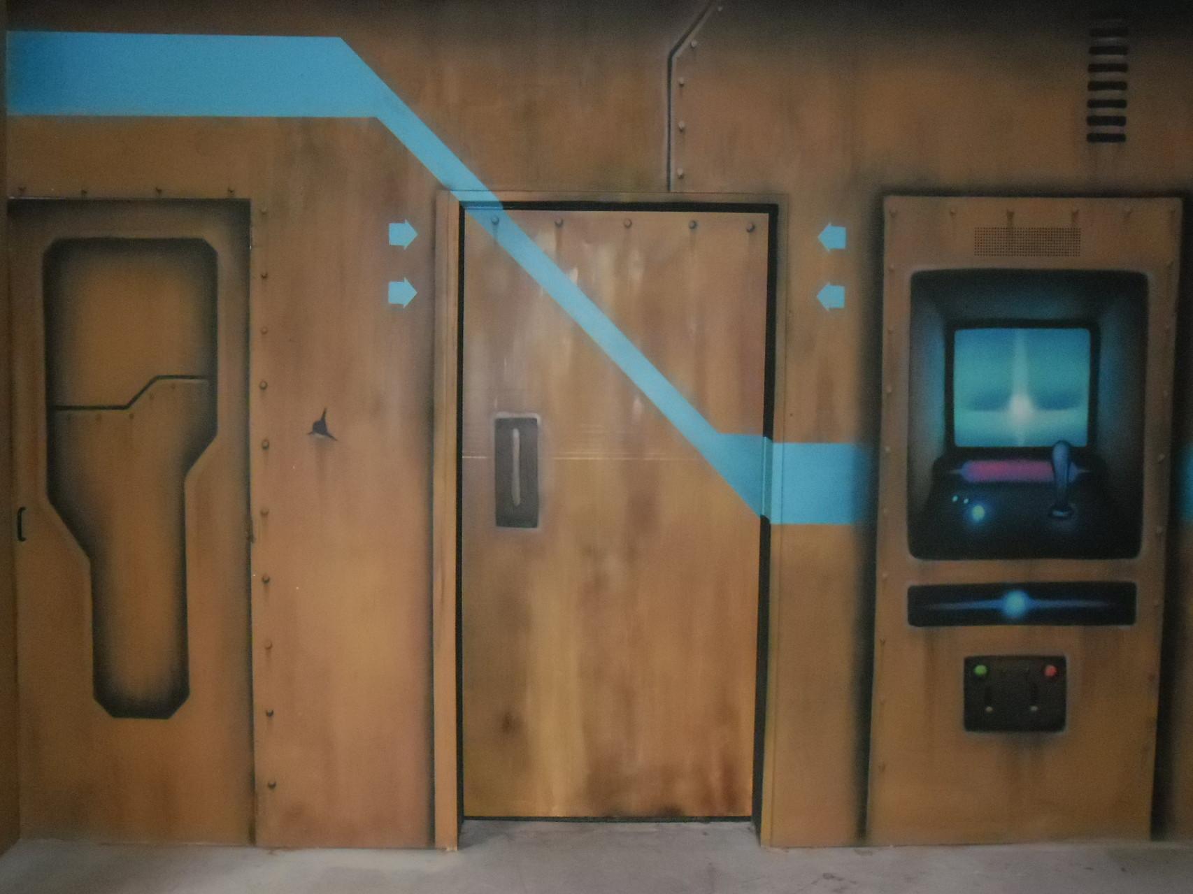 porte airlock du lasergame 50