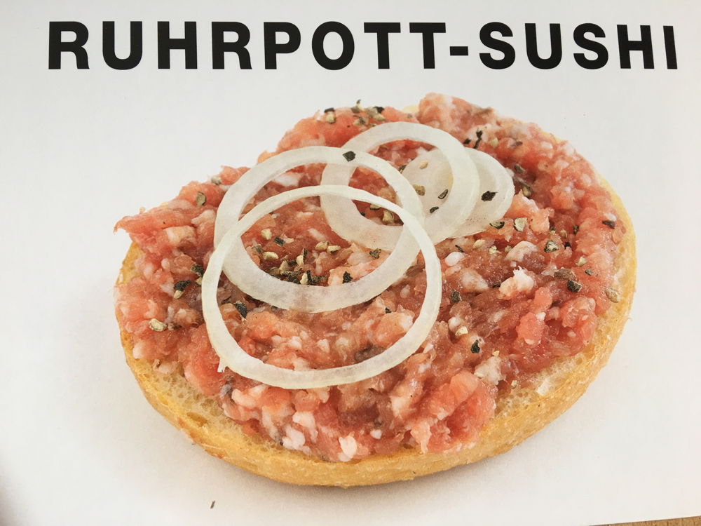 Ruhrpott-Sushi. Pro-Tipp: Jeder Mittwoch ist ein METTWOCH!