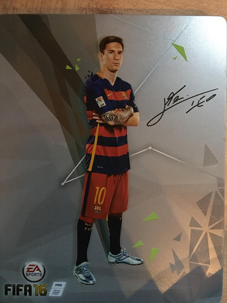 Steelbook FIFA 16