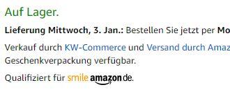 """Alle Artikel, bei denen """"Qualifiziert für smile.amazon.de"""" steht, werden bei der Spendensumme berücksichtigt!"""