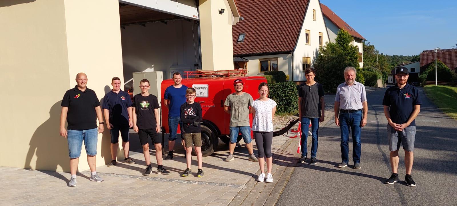 Gründung der Jugendfeuerwehr Bergtheim-Rockenbach