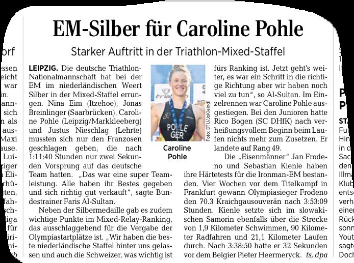aus der Leipziger Volkszeitung vom 03.06.19
