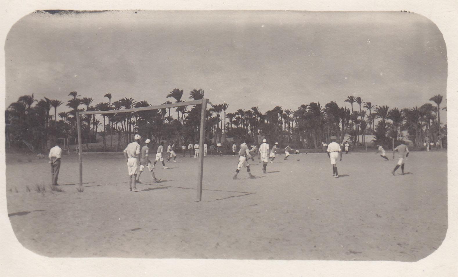 Fussballturnier im Lager 2