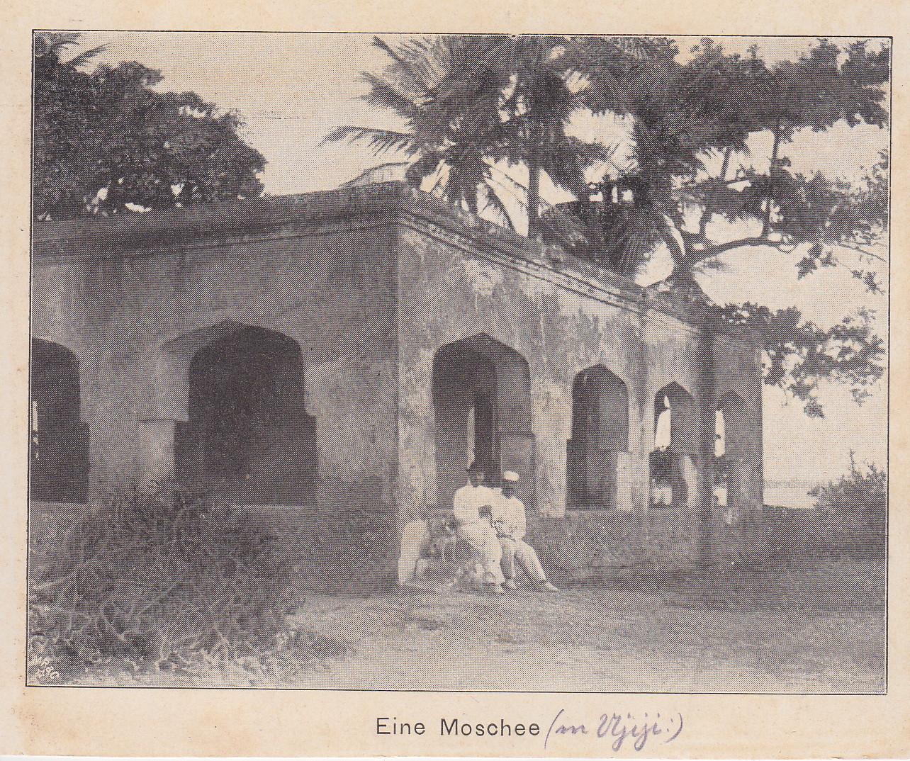 Moschee in Ujiji (Druck)