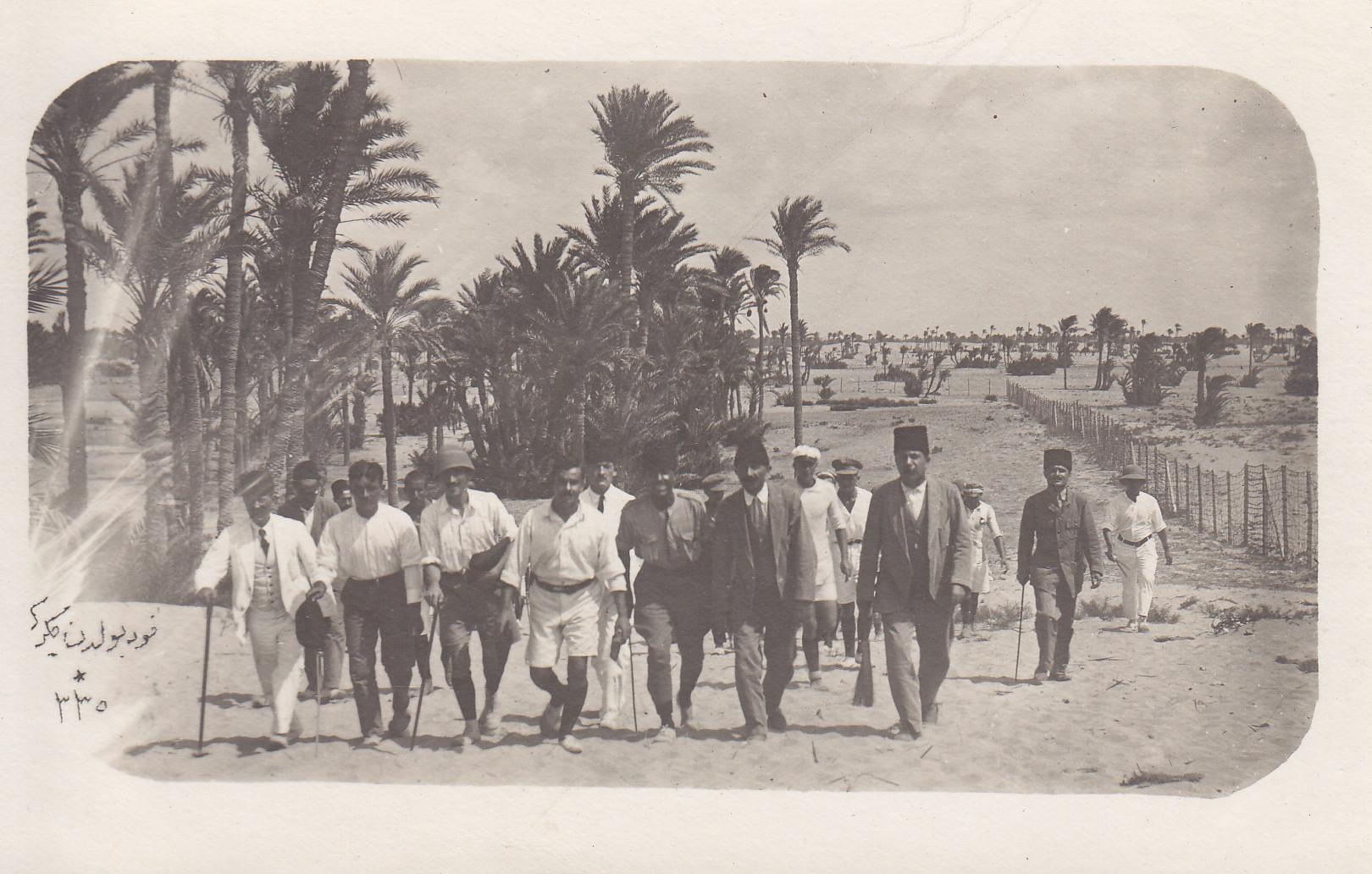 Besichtigung des türkischen Lagers