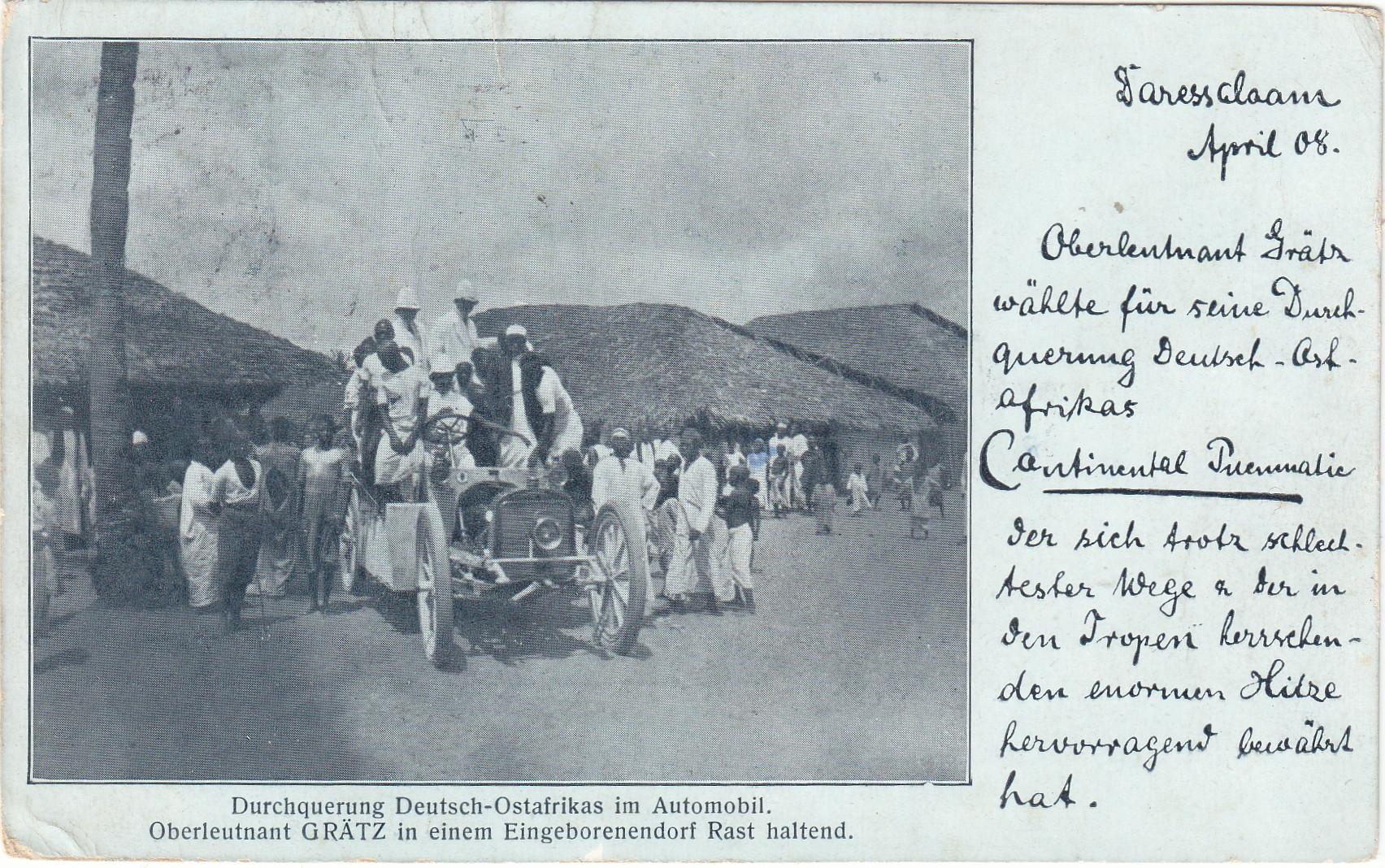 Durchquerung von Deutsch-Ostafrika