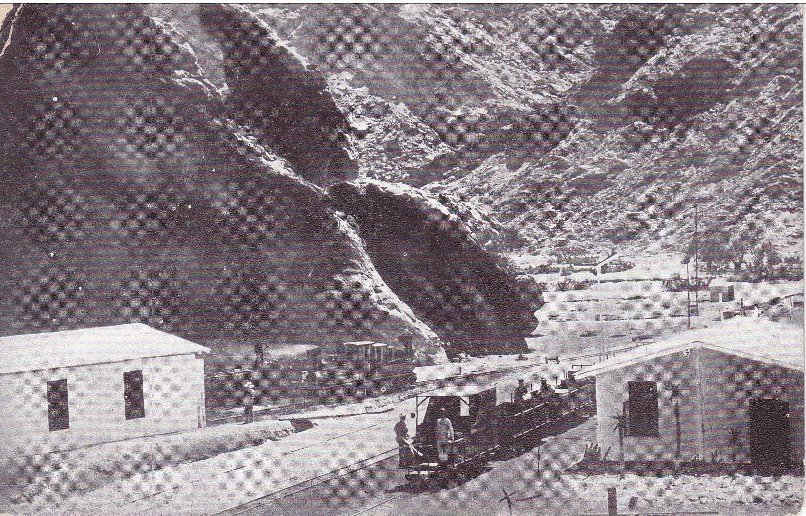 Eisenbahn Swakopmund-Windhuk durch das Khangebirge