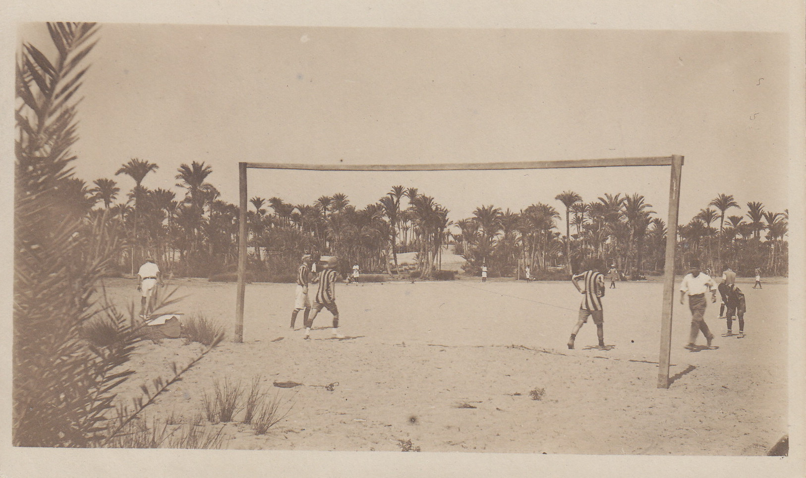 Fussballturnier im Lager 1