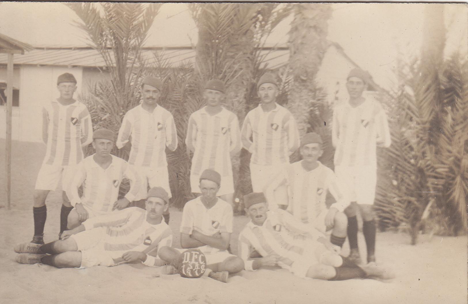 Mannschaft des D.F.C. Saison 1918