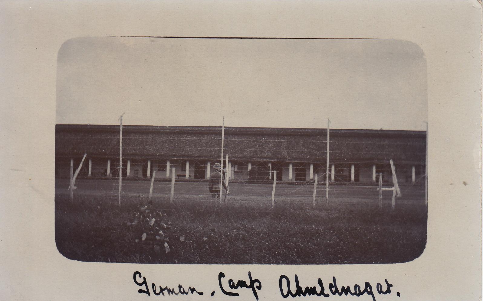 Das deutsche Lager in Ahmednagar 1915