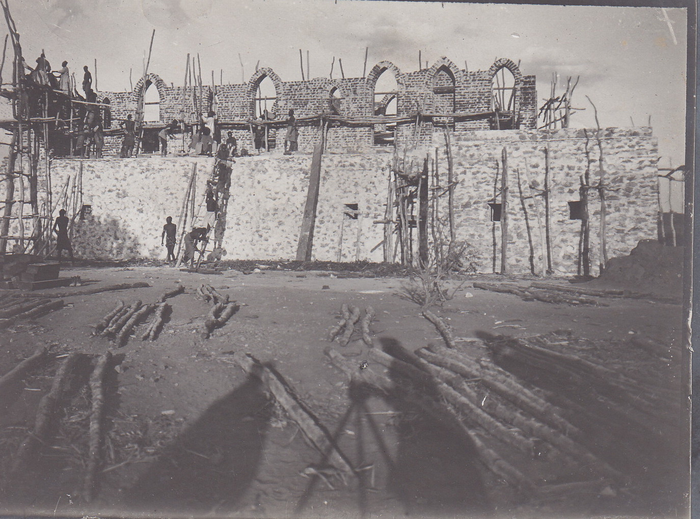 Bau eine Boma - Festung