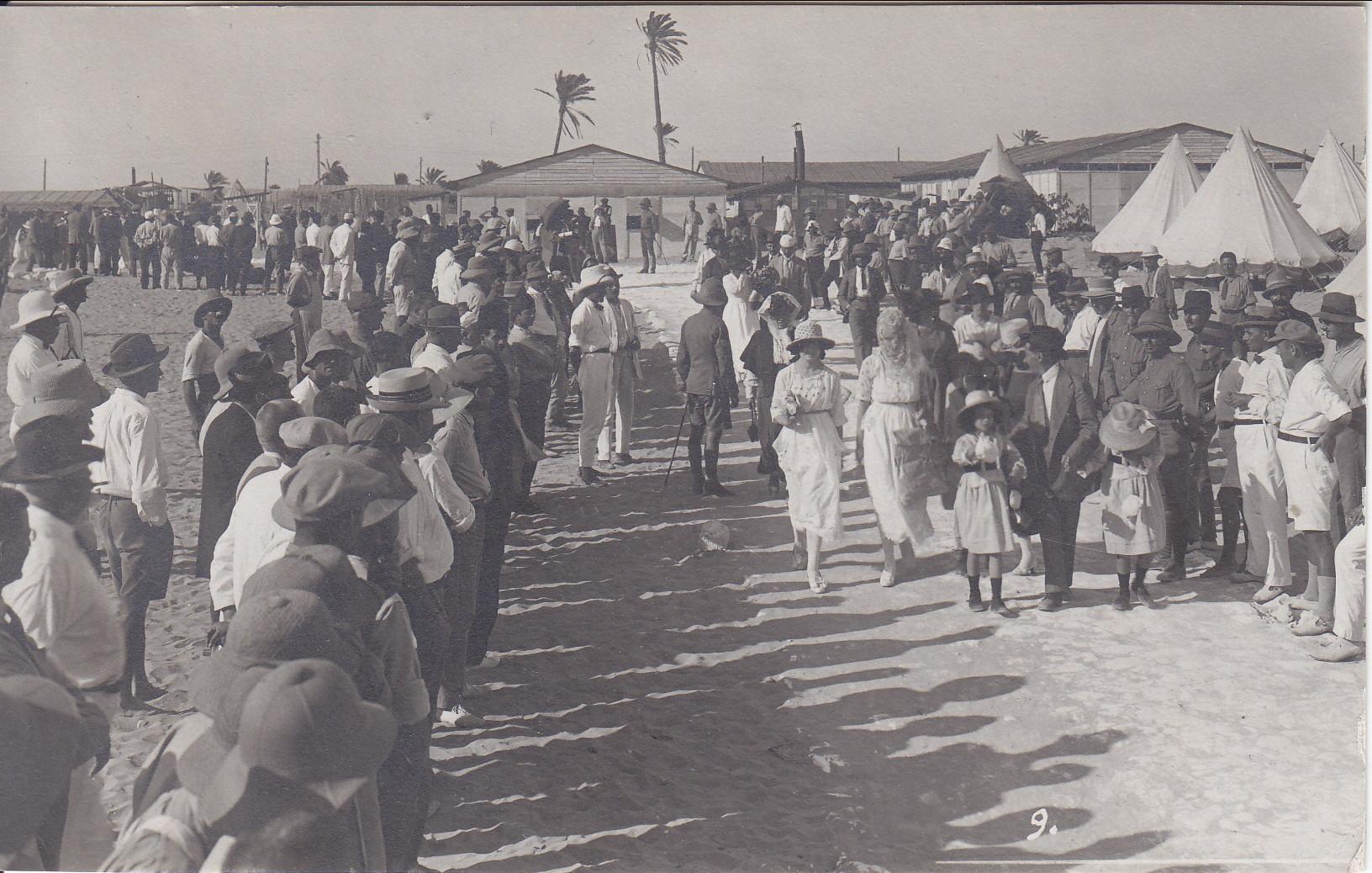 Besuchstag im B-Camp 13.6.1919