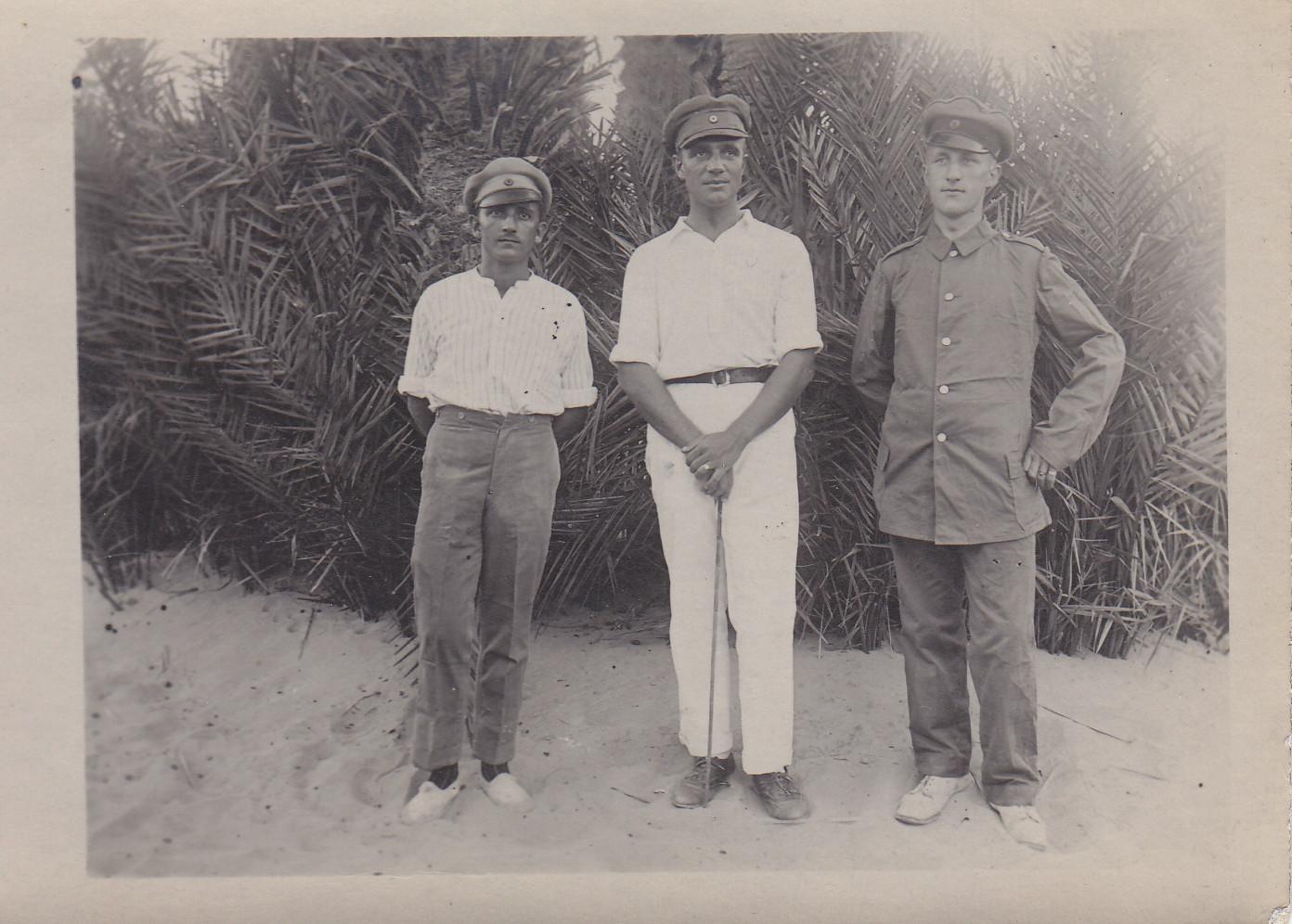 Zur Erinnerung für Ewald Engels von Anton Wachter - 1919 - Ostafrika-Kämpfer