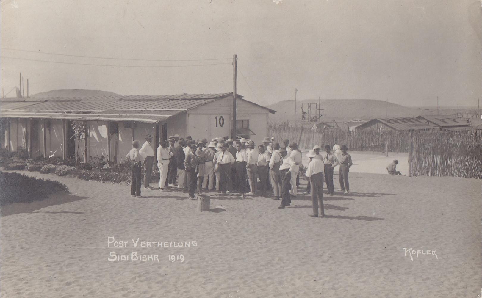Post-Verteilung Sidi Bishr 1919 - Kofler
