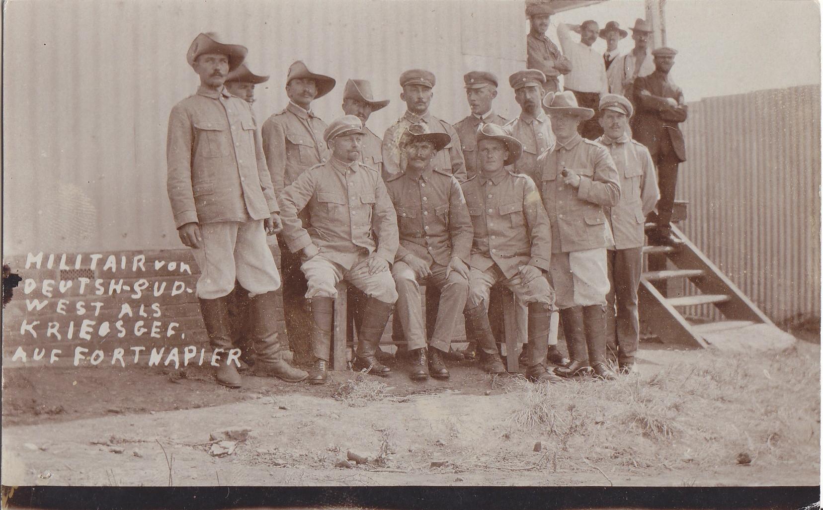 Deutsche Kriegsgefangene aus Deutsch-Südwestafrika