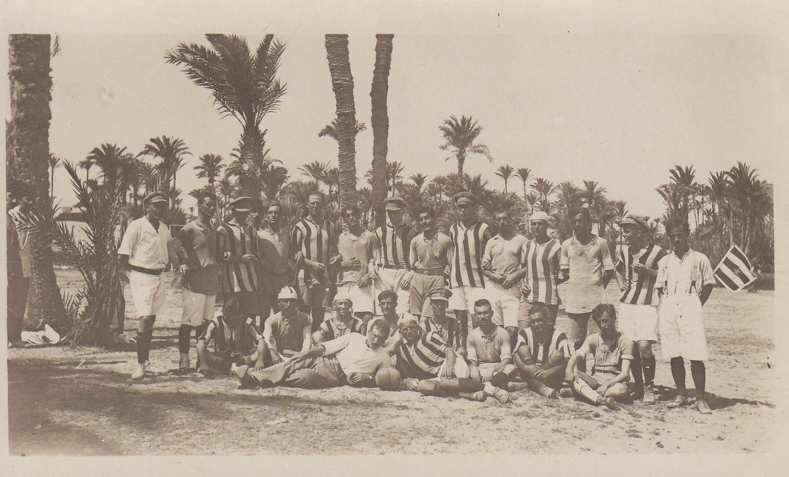 Fussballmannschaft in Sidi Bishr