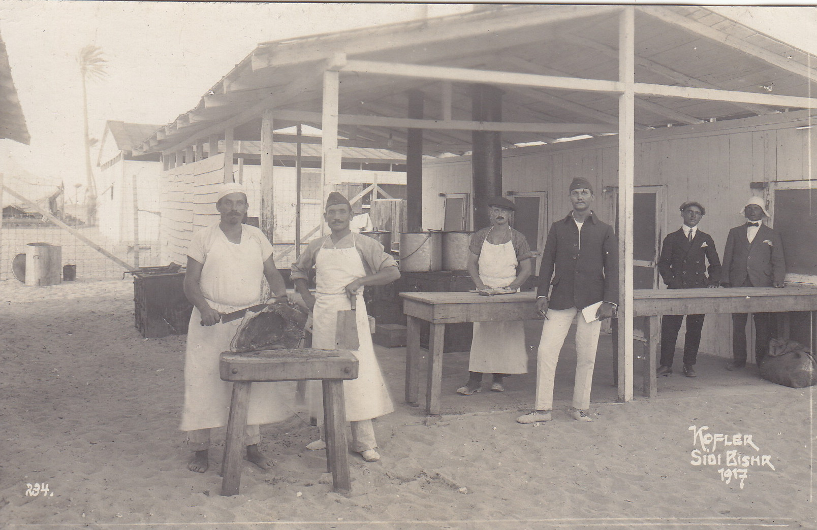 Lagerküche - Aufnahme Kofler 234 1917