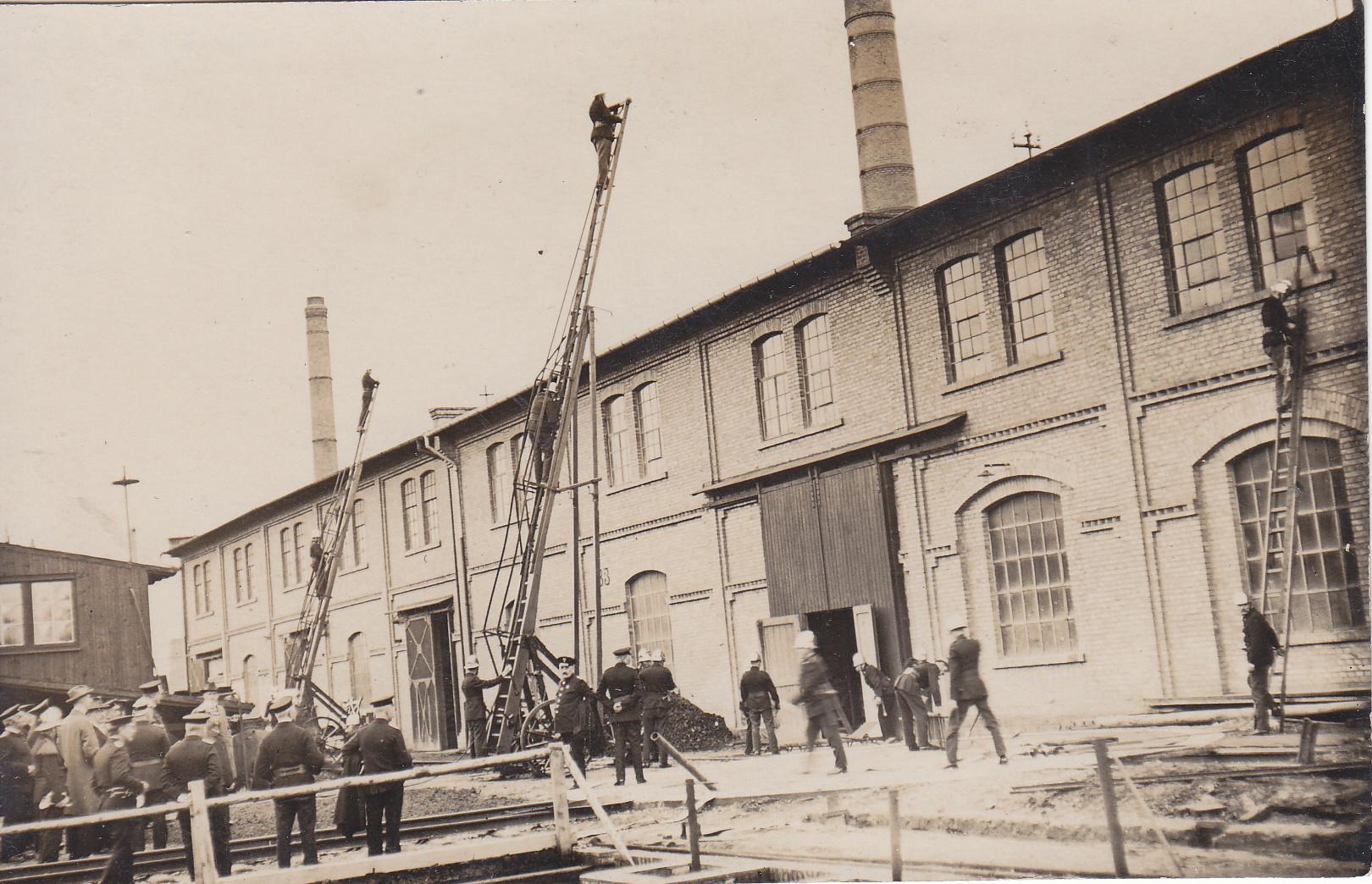 Werksfeuerwehr Boehringer Mannheim 1924