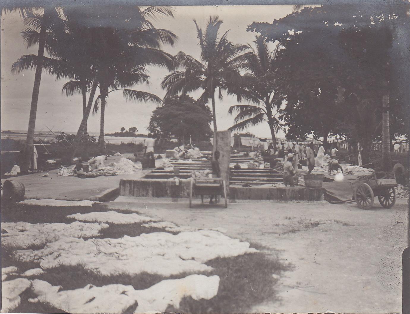 Waschbecken für Eingeborene - Sansibar