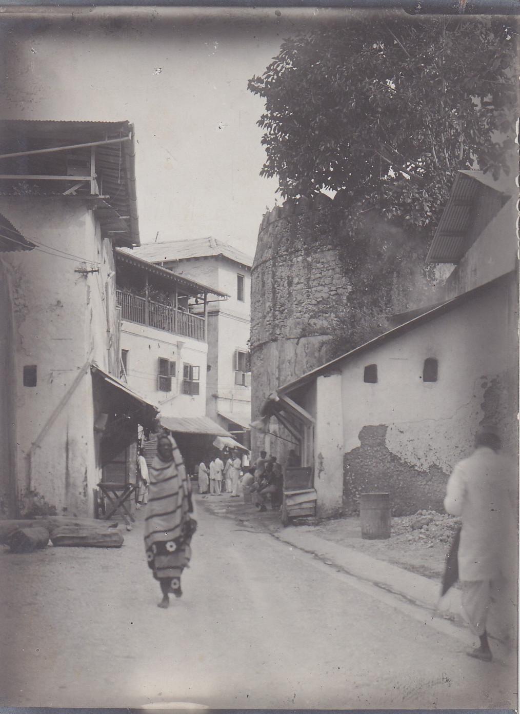 Straße in Sansibar