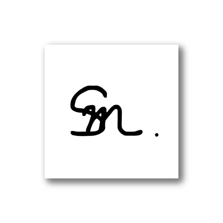 Sm . Sticker White(5×5cm)