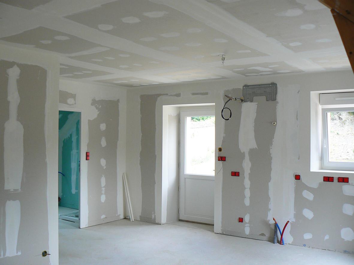 Doublage murs - plafonds