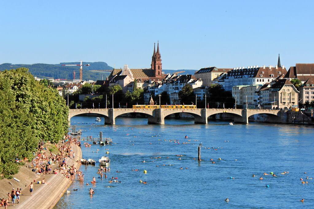 Basel am Rhein