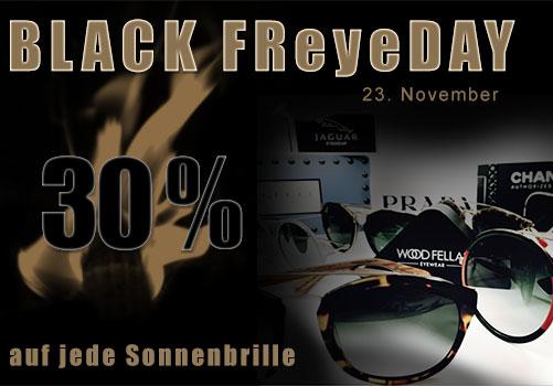 BLACK FReyeDAY bei Ihrem Optiker in Hamburg
