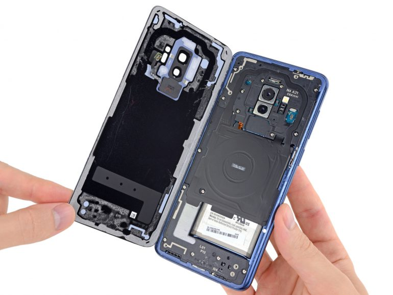 Schemes, disassembly, repair and review Samsung Galaxy S9