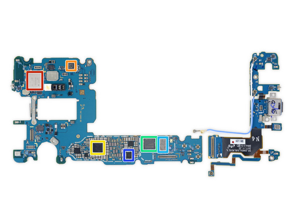 Schemes, disassembly, repair and review Samsung Galaxy S9 Plus