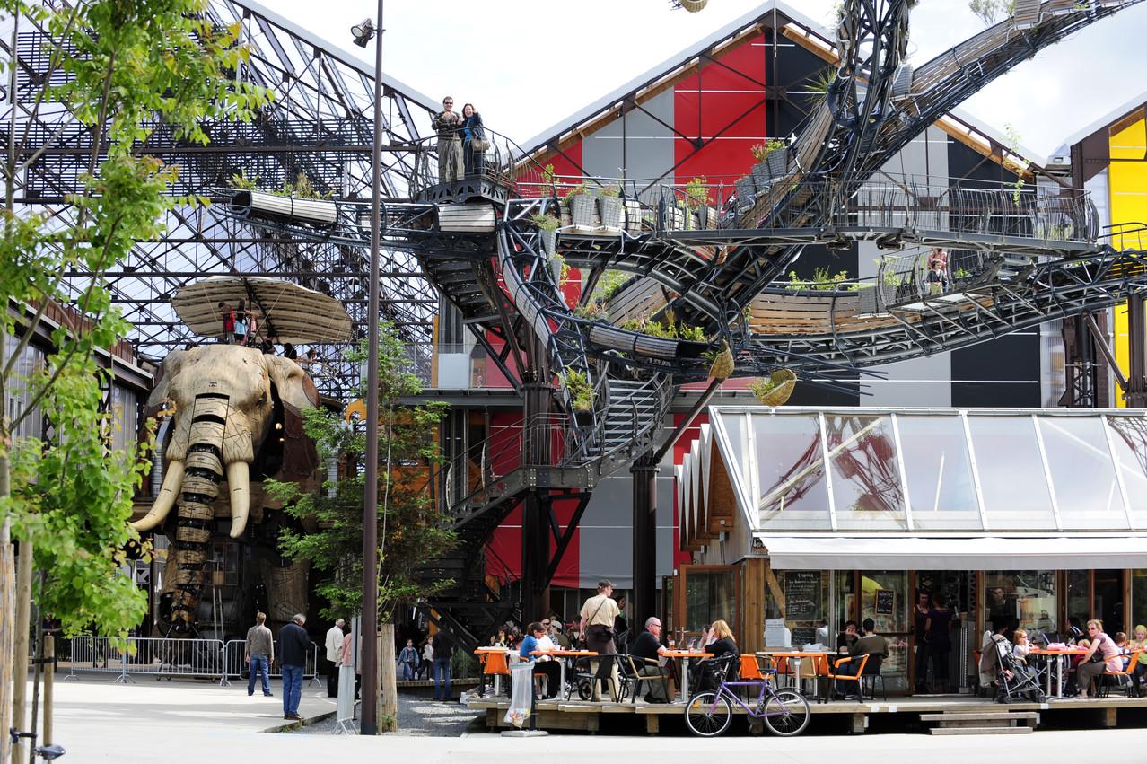Nantes, Les Machines de l'île.