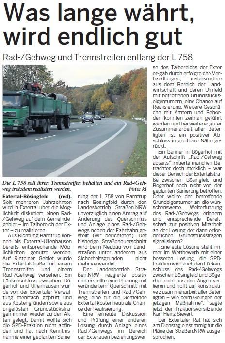 Nordlippischer Anzeiger, 03.05.2014
