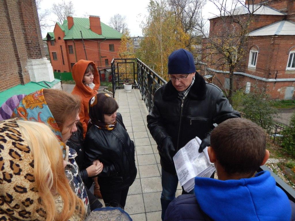Экскурсия в Боголюбский собор города Мичуринска