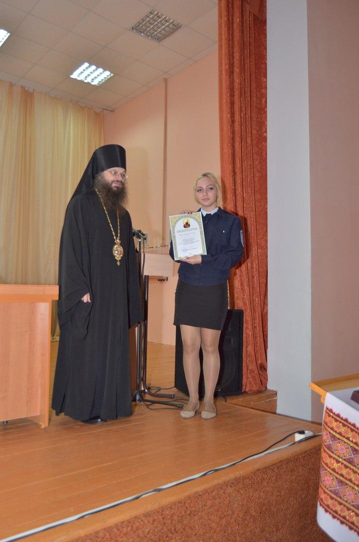 Участие студентки группы 1Т Дроздовой Ирины во Владимирских чтениях